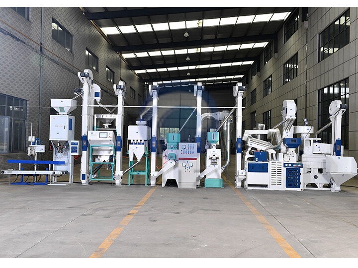 20 ton rice milling production line