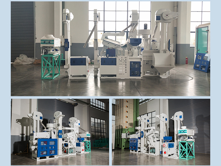 Applications of rice milling plant