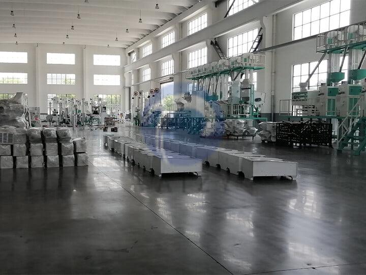 rice milling production line manufacturer