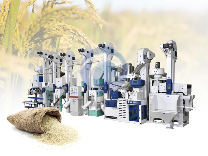 combined rice milling plants